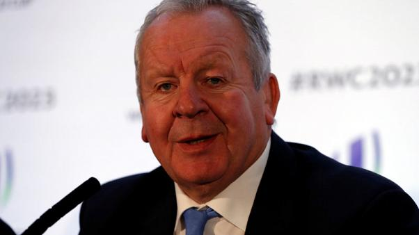 Rugby Union - Rugby World Cup 2023 Host Country Announcement - Royal Garden Hotel, London, Britain - November 15, 2017   Bill Beaumont Chairman of World Rugby during the press conference   Action Images via Reuters/Paul Childs