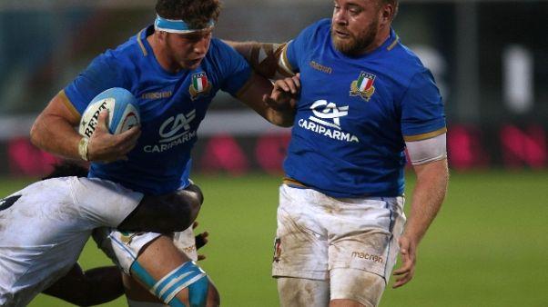 Rugby. azzurri, O'Shea ne cambia due