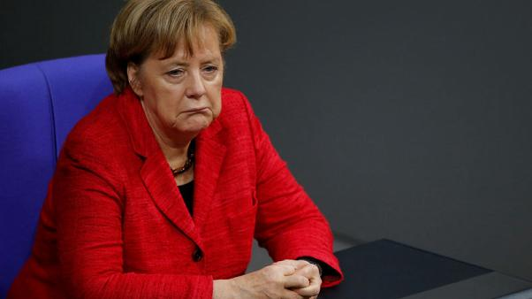 Merkel looks secure for now despite coalition chaos
