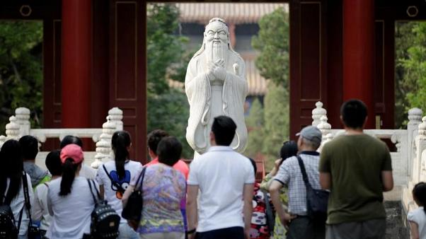 """الصين تطلب من السلطات المحلية عدم تشجيع """"الهوس الديني"""" من أجل الربح"""
