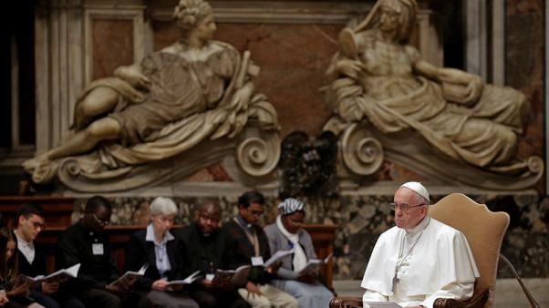 Pope, at service for Africa, decries murder of women and children