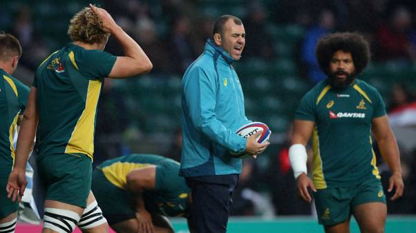 Wallabies' Cheika warned over angry outbursts