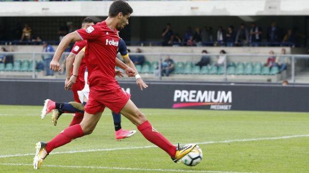 Esterno Fiorentina, con la Lazio partita importante