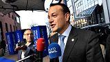 Ireland's Prime minister Leo Varadkar arrives for the EU Social Summit for Fair Jobs and Growth in Gothenburg, Sweden November 17, 2017. TT News Agency/Jonas Ekstromer/via REUTERS