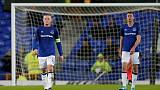 Soccer Football - Europa League - Everton vs Atalanta - Goodison Park, Liverpool, Britain - November 23, 2017   Everton's Wayne Rooney and Michael Keane look dejected           REUTERS/Andrew Yates