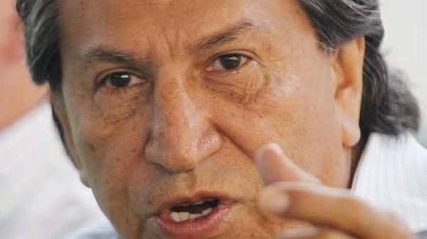 الإدعاء في بيرو يقول إن شركة برازيلية قدمت رشوة للرئيس السابق توليدو