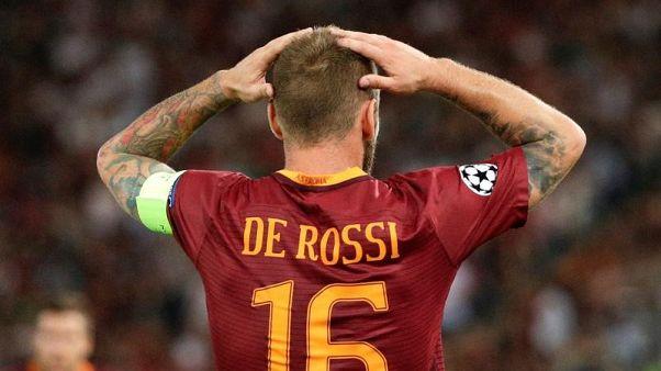 روما يهدر فرصة مواصلة انتصاراته خارج ملعبه بسبب تهور دي روسي