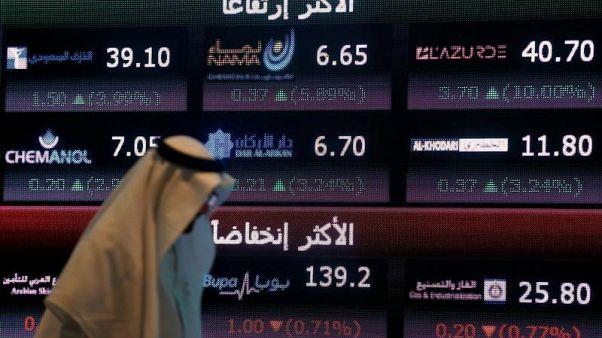 مبيعات الأجانب في الأسهم السعودية لا تزال تتجاوز مشترياتهم عقب الاحتجازات