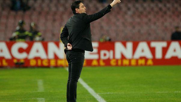 ميلانو يقيل المدرب مونتيلا ويعين جاتوسو خلفا له