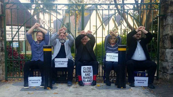 شرطة استراليا تنهي احتجاجا أمام مقر لرئيس الوزراء