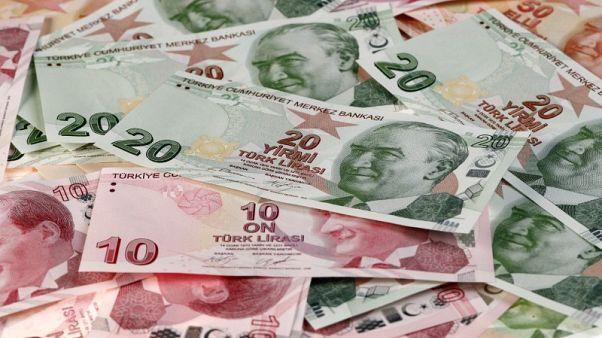 العملة التركية عند أعلى مستوى منذ 20 نوفمبر دون 3.9 للدولار