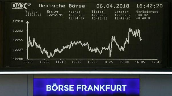 الأسهم الأوروبية تصعد مع تحسن المعنويات ومكاسب للبنوك الإيطالية