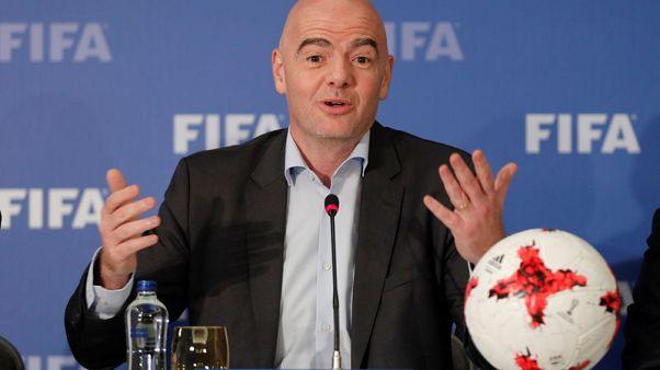 إنفانتينو: يمكن للحكام إيقاف مباريات في كأس العالم بسبب العنصرية
