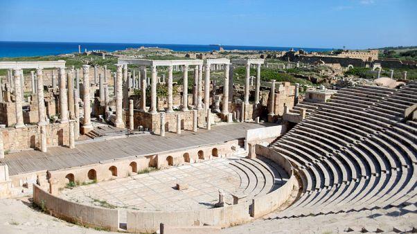 آثار لبدة الليبية الشهيرة تعتمد على السكان في الحماية