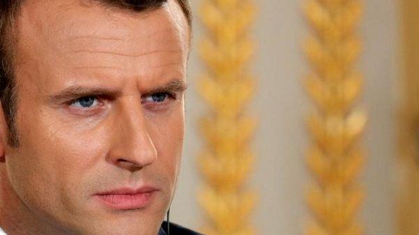 الرئيس الفرنسي يدعو الصين وروسيا لدعم العقوبات على كوريا الشمالية