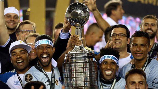 جريميو يحرز لقب كأس ليبرتادوريس بعد فوزه على لانوس