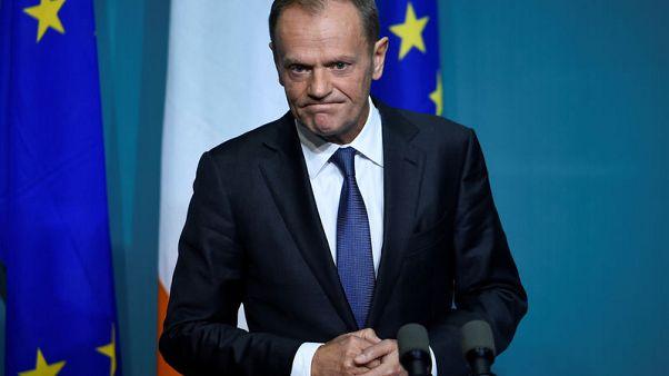 توسك: أيرلندا تحدد مستقبل محادثات انسحاب بريطانيا من الاتحاد الأوروبي