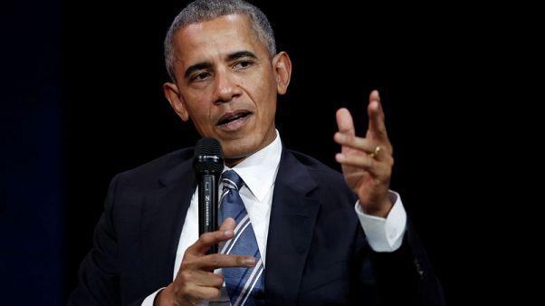 أوباما يبدي أسفه لعدم وجود قيادة أمريكية في قضية المناخ
