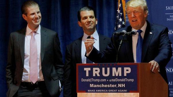 مصدر : نجل ترامب وأحد مساعديه السابقين يمثلان أمام لجنة المخابرات بمجلس النواب