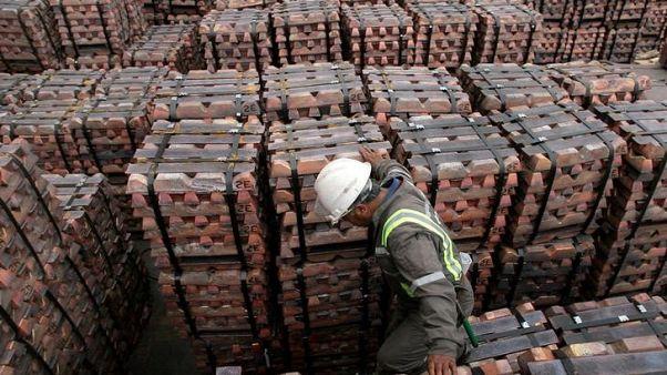 النحاس يقفز أكثر من 1% مع انحسار القلق بشأن التوترات التجارية بين أمريكا والصين