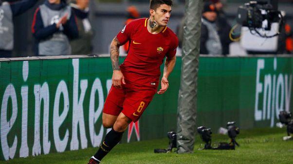 AS Roma forward Perotti renews contract until 2021