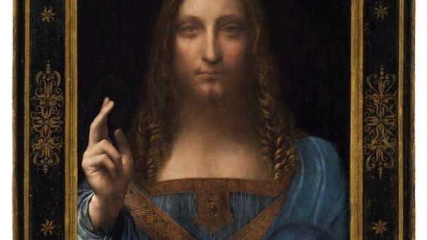 متحف اللوفر أبوظبي يعرض لوحة (سالفاتور موندي) لدا فينشي