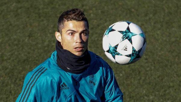 Cinque trofei per il portoghese, come Messi