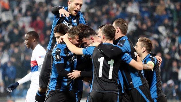 Europa League: Atalanta vince e Milan ko
