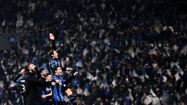Europa League: Lyon privé de première place par l'Atalanta Bergame