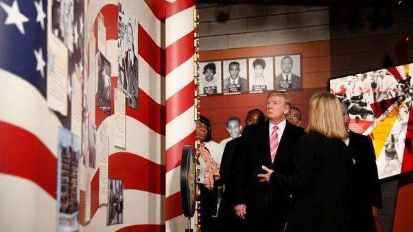ترامب يحضر افتتاح متحف للحقوق المدنية في غياب قيادات أمريكية من أصل أفريقي