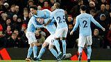 مانشستر سيتي يهزم يونايتد وليفربول يفرط في الفوز
