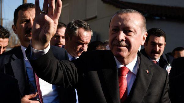 إردوغان: أمريكا شريكة في إراقة الدماء باعترافها بالقدس