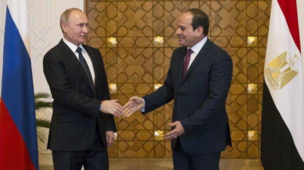 تلفزيون: مصر وروسيا توقعان اتفاق بدء تنفيذ محطة الضبعة النووية
