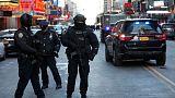 انفجار بمحطة حافلات في نيويورك واحتجاز المشتبه به