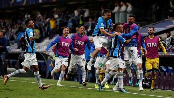 جريميو يهزم باتشوكا ويتأهل لنهائي كأس العالم للأندية