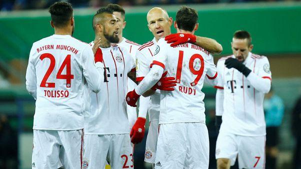 بايرن يتأهل لقبل نهائي كأس ألمانيا وليفركوزن ينتفض