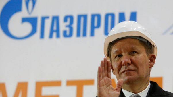جازبروم الروسية تقول حصتها بسوق الغاز الأوروبية أكثر من 33%