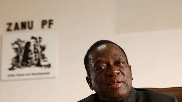 رئيس زيمبابوي الجديد يدعو لإنهاء العقوبات الغربية على بلاده