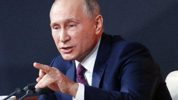 Doping: Putin, pressioni su Cio e Wada