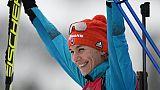Biathlon: Kuzmina gâche un peu la fête bleue