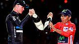 """Froome: Quintana espère que les autorités antidopage feront """"bien leur travail"""""""