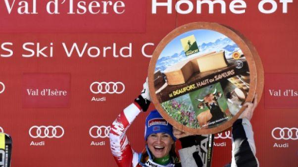 Ski: Val d'Isère récupère le super G dames de St Moritz
