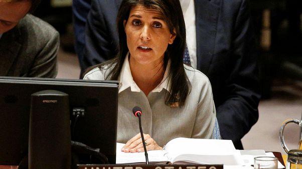 مبعوثة أمريكا بالأمم المتحدة: أمريكا تعتزم بناء تحالف دولي للتصدي لإيران