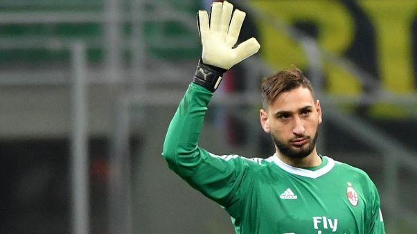 """Donnarumma """"Io sono un tifoso del Milan"""""""