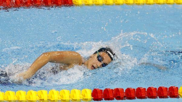 Nuoto: Europei, Quadarella bronzo 800 sl