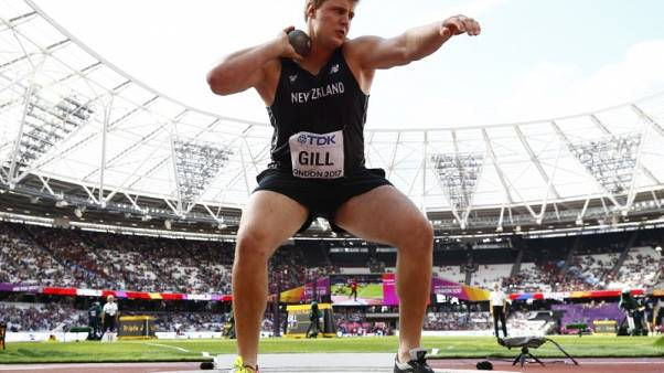Heart condition rules NZ shotputter Gill out of Commonwealth Games