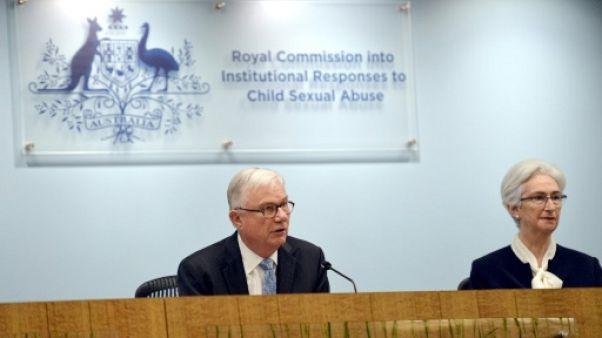 """Pédophilie: l'Australie a """"manqué à ses devoirs"""""""