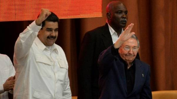 Maduro reçoit à Cuba le soutien de pays amis du Venezuela