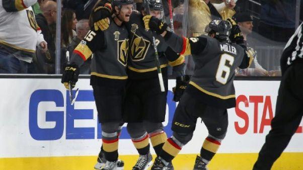 Hockey: Las Vegas s'offre Pittsburgh et poursuit sa saison historique en NHL