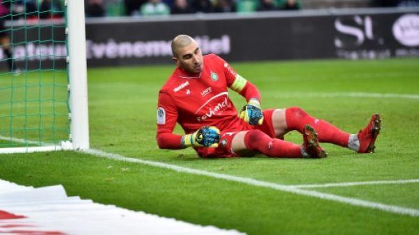 Ligue 1: Saint-Etienne ensablé